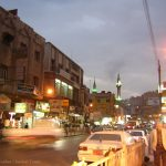 Amman Downtown at Night