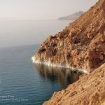 Salt on the Shores of The Dead Sea