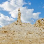 The Pillar of Salt of Lot's Wife at Safi - Dead Sea