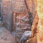 The Treasury from Above - Petra