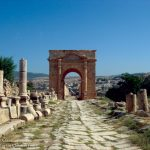 The Roman Road to the North Gate - Jerash