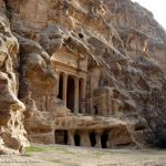 The Triclinium at Little Petra (Al Beidha)