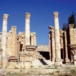 The Processional Way to The Propylaeum - Jerash