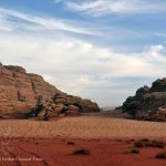 The moon valley, Wadi Rum