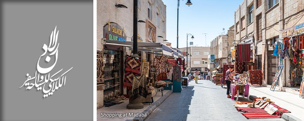 Shopping at Madaba